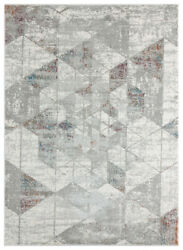 United Weavers Red Contemporary Faded Prisms Area Rug Geometric 4525 10233