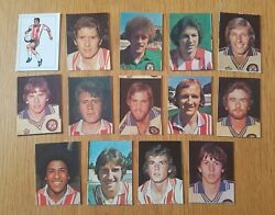 Ava Americana Football Special And03979 - Set Of 14 Southampton Stickers - 1979