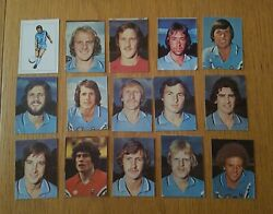 Ava Americana Football Special And03979 - Set Of 15 Coventry City Stickers - 1979