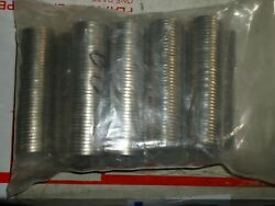 10-2005-5-p-5-d Rolls Jefferson Bison Nickels Clear Wrapped 40 Coins Each
