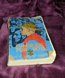 Late And03930and039s Vintage Boy Scout Handbook Boy Scouts Of America