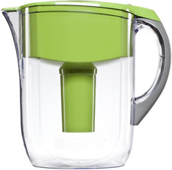 Brita Large 10 Cup Water Filter Pitcher with 1 Standard Filter BPA Free – Gra