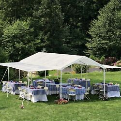Max AP 2-in-1 Canopy with Extension Kit 10 x 20 ft Waterproof Canopy Kit for