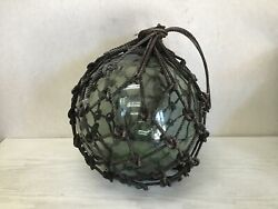 Y1174 Glass Float Circumference 90cm Nautical Buoy Japanese Fishing Antique