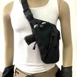 Mens Anti-theft Tactical Military Gun Holster Pouch Bag Chest Pack Crossbody  $12.34
