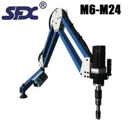 M6-m24 1900mm Long Arm Electric Tapping Machine Arm,deep Hold Threading Machine