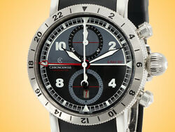 Chronoswiss Timemaster GMT S-RAY 007 Automatic Chronograph Stainless Steel Watch
