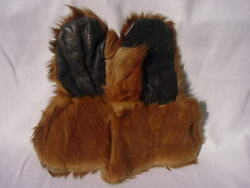 Old Western Leather Gauntlets