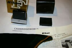 Waist Level View Finder Nikon Brand New Old Stock For Nikon Cameras In Box