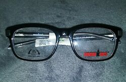 Iron Kids Eyeglasses RX Frame IKB 900 Black Clear 47 16 130 New W Tags Iron Man