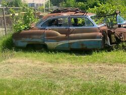 1950 Buick Roadmaster 4-dr, Junkyard Car For Parts. You Pick Up Only