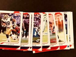 2001 Fleer Authority Oversized Nfl Proof You Choose Your Own Card 1