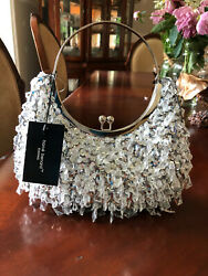 Harve Benard Evening Silver Purse NEW with tag $20.00