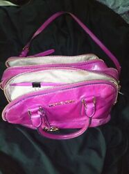 hot Pink crossbody Michael Kors purse $78.00
