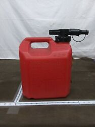 Easy Can Gasoline Fuel Gas Can Red 2.5 Gallon 10liters