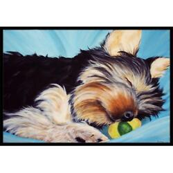 Carolines Treasures Amb1075mat Naptime Yorkie Yorkshire Terrier Indoor Or Out...