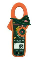 Extech Instruments 1000a True Rms Ac/dc Clamp Meter W/ir Thermometer Ex830