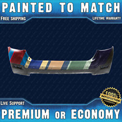 New Painted To Match - Rear Bumper For 2011 2012 2013 Toyota Highlander 11 12 13