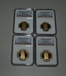 Gorgeous 2011 Proof Presidential Dollar Set - Ngc Pf 69 Ultra Cameo