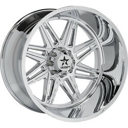 4 - 20x10 Chrome Wheel Rbp 82r Falcon 5x5.5 10