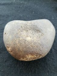 Native American Indian Fire Starter/ Pecking Stone/ Hammer / Spencer Co. Indiana