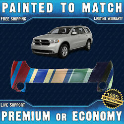 New Painted To Match - Front Upper Bumper For 2011 2012 2013 Dodge Durango Suv