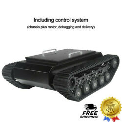 Tr500 Tracked Robot Chassis Tank Chassis Assembled Shock Absorption Load 50kg
