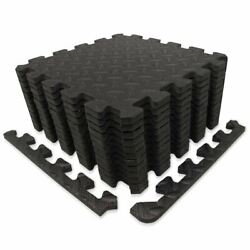 9horn Exercise Mat/protective Flooring Mats With Eva Foam Interlocking Tiles And