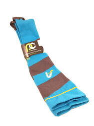 Pro Compression Unisex Knee-High Blue and Gray Compression Socks LXL NWT $44.99
