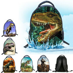 3D Dinosaur Kids Backpack Cartoon Kindergarten School Bag Child Travel Rucksack $13.99