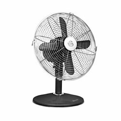Swan Retro Fan Oscillation And Tilt Function Low Noise And Aluminium Blades