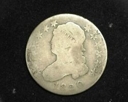 Hsandc 1820 Large O Capped Bust Quarter G - Us Coin