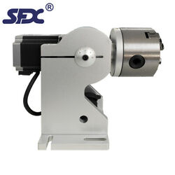 Sfx D125mm Three-jaw Rotary Axis Optional Parts Of Fiber Laser Engraving Machine