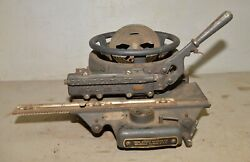 Vintage Cast Iron Ideal Stencil Machine No 3 Collectible Industrial Sign Tool