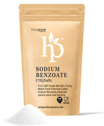 Sodium Benzoate By Holypure 100 Purity Food Grade Preservative Additive