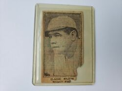 Babe Ruth Yankees 1923 World Series Ny Times Team Issued Set 1 Of 16 Rare