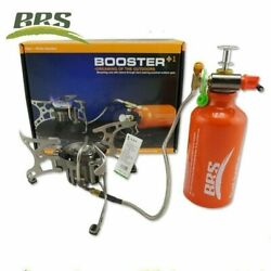 BRS 8 Outdoor Portable Oil Gas Camping Stove Set Hiking Foldable Picnic Cookware $69.00