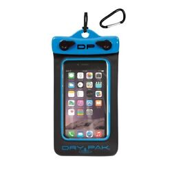 Airhead Dp-46eb Cell Phone And Gps Dry Pak Waterproof Case 4x6in Blue