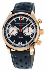 Frederique Constant Vintage Rally Healey Chrono Automatic Mens Watch Fc-397hn5b4