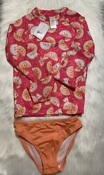 GIRLS Swimwear 2 Piece Set SIZE M (7-8) NWT + FREE GIFT $14.99