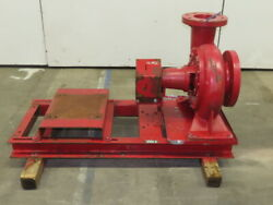 Bell And Gossett 1510 8x6 50hp 1800 Rpm 930 Gpm Max End Suction Pump No Motor