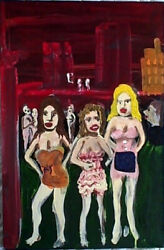 Bad Bad Girls In The Red River Valley By William Mayer  New York City Artist
