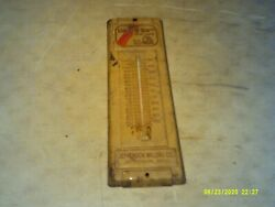 Dads Dog Food 50th Anniersary Thermometer Jefferson, Ohio Milling Co. 4 1/2 X 14