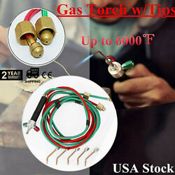 Free Shipping Copper And Aluminum Mini Oxygen Welding Torch For Glass Blowing Us