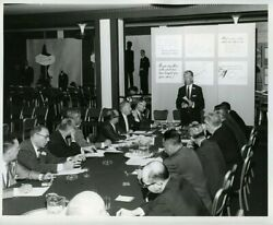 35 Photographs 1959 Sales Meeting Boston Department Store Kennedyand039s Mens Fashion