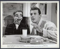 Ventriloquist Paul Winchell Jerry Mahoney Three Stooges Film 1965r Vintage Photo