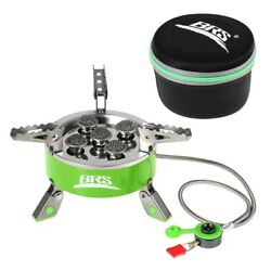BRS 75 7000W Camping Gas Stoves Portable Backpacking BBQ Foldable Cooking Burner $78.00