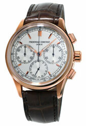 Frederique Constant Flyback Chrono Manufacture Automatic Mens Watch Fc-760v4h4