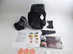 Vanessa 3110 Fuel Gas Tank Leather Bag Backpack High Tech Motorcycle Luggage
