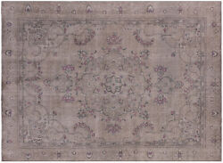 8and039 10 X 12and039 2 Hand Knotted Vintage White Wash Rug - Q4638